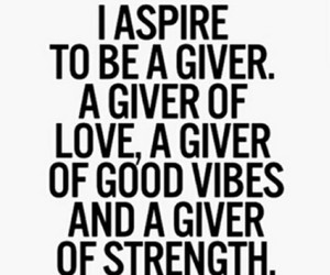 aspire, good vibes, and quote image