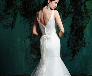 fashion, wedding dress, and wedding gowns image