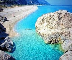 beautiful, beach, and Greece image