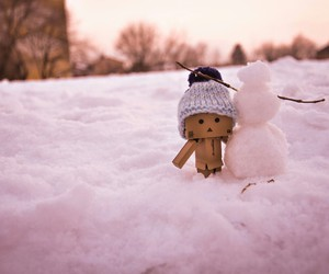 beautiful, christmas, and danbo image