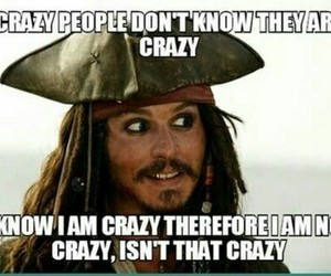 crazy and jack sparrow image