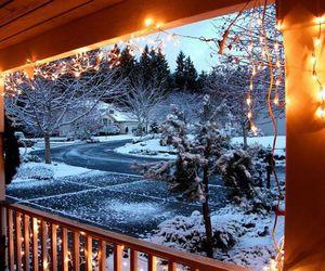 snow, winter, and winter wonderland image