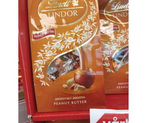 chocolate, peanut, and lindt image