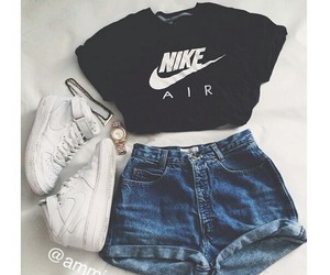 outfit, nike, and clothes image