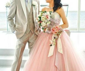 beautiful, sweet, and wedding image