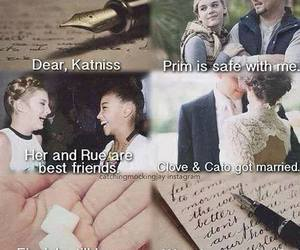 rue, prim, and katniss image
