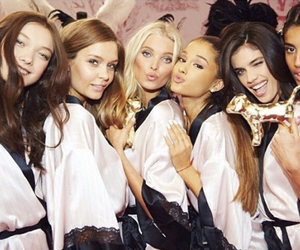ariana grande, model, and Victoria's Secret image