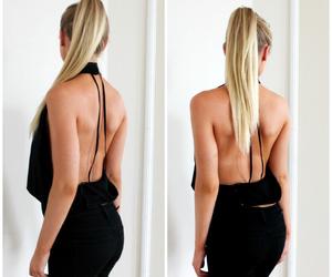 black, blogger, and ponytail image