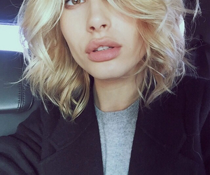 hailey baldwin and hair image