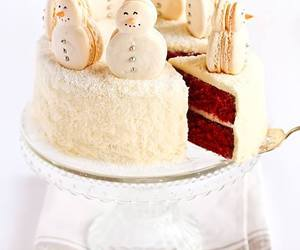 cake, christmas, and sweet image