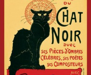 chat noire and toulouse loutrec image