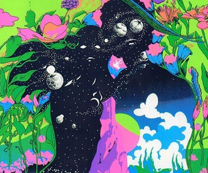 trippy, psychedelic, and art image
