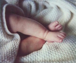 baby, foot, and little image