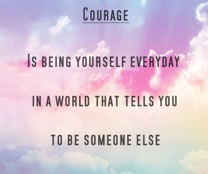 courage image