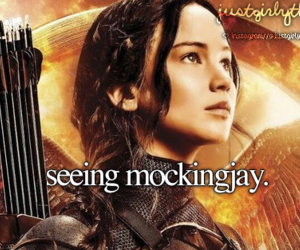 mockingjay, hunger games, and just girly things image