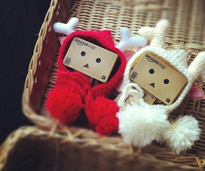 cute, christmas, and danbo image