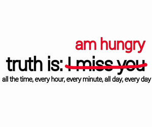 hungry, food, and truth image