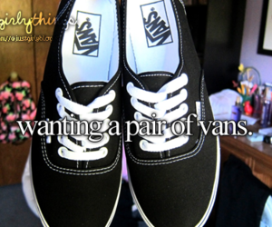 vans, just girly things, and shoes image
