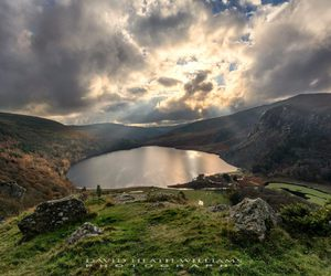 co wicklow and lough tay image