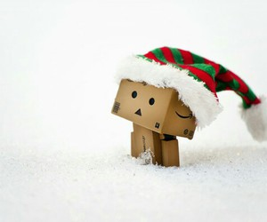 danbo, snow, and cute image