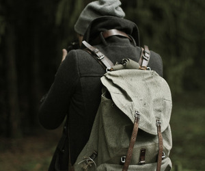 photography, boy, and backpack image