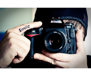 camera, smile, and photography image