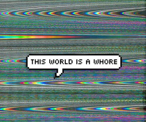 grunge, world, and whore image