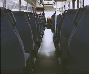 adventure, bus, and grunge image