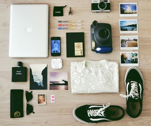 camera, macbook, and vans image