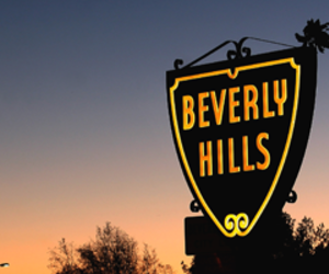 Beverly Hills, california, and fame image