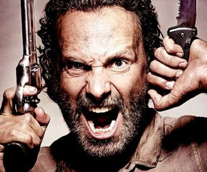 rick, the walking dead, and rick grimes image