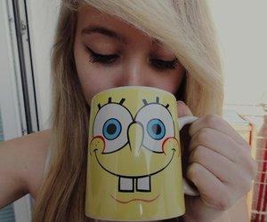girl, bob esponja, and spongebob image