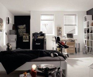 bedroom, desing, and M image