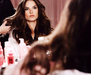 alessandra ambrosio, Victoria's Secret, and hair image