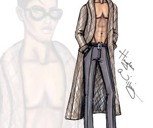 neutral, hayden williams, and fashion sketch image