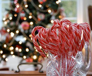christmas, candy, and winter image