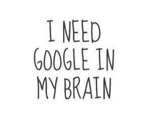 quote, google, and brain image