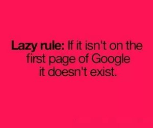 google, Lazy, and true image