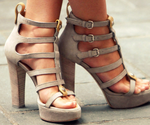 awesome, cute, and high heels image