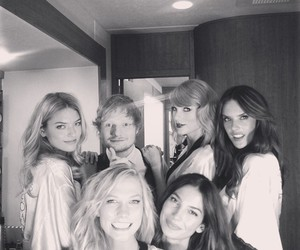Taylor Swift, ed sheeran, and Victoria's Secret image
