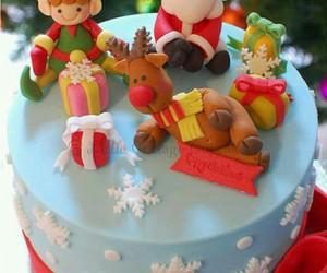 christmas and cake image
