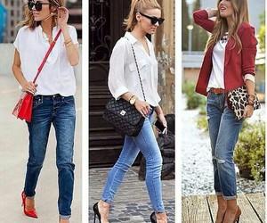 elegant, fashion, and girls image