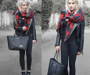 boots, fashion, and leggings image