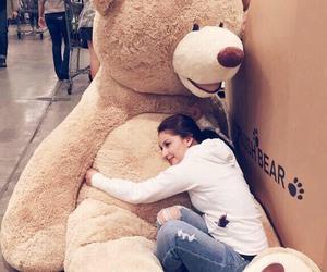 bear, teddy bear, and gift image