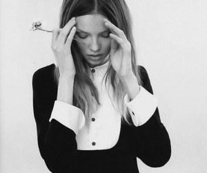 model, Magdalena Frackowiak, and hair image