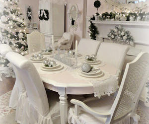 christmas, decor, and dining image
