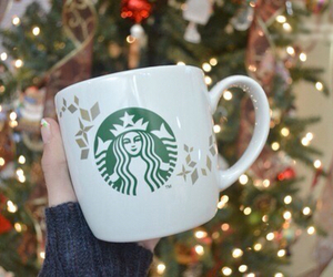 starbucks, tumblr, and christmas image