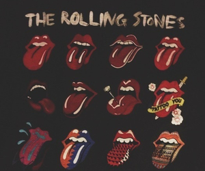 the rolling stones, rock, and music image