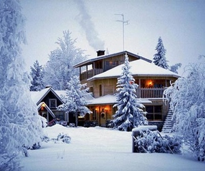 amazing, christmas, and house image