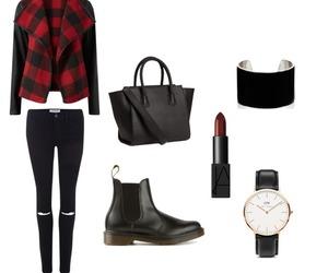 bag, black, and bracelet image